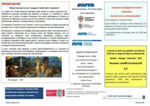 Convegno AVIS: La Cultura del Dono - Cagliari, 15 settembre 2016 - Presentazione