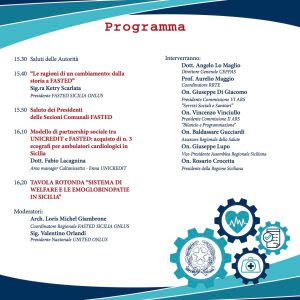 Riforme e Salute - Caltanisetta, 21 novembre 2016 - Programma
