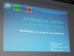 Assemblea Ordinaria di United Onlus - Roma, 8 aprile 2017 - Foto 1