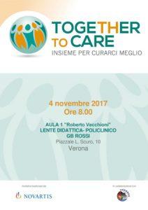 Together to care - Verona 4 novembre 2017 - Locandina
