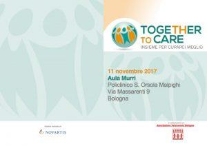 Together to Care - Bologna, 11 novembre 2017 - Locandina
