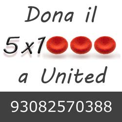 Dona il 5 per mille a United Onlus