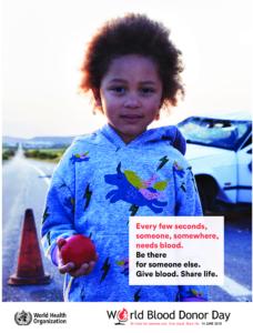giornata mondiale donatore sangue