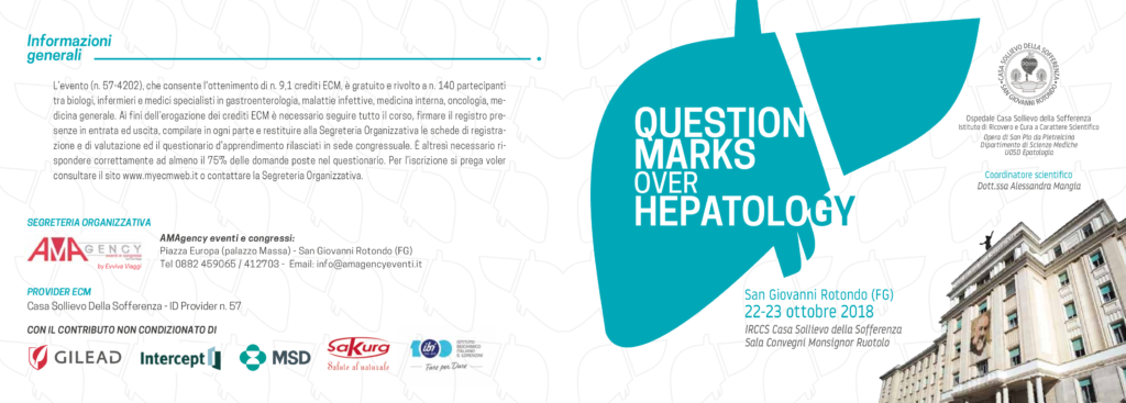 Question marks over hepatology