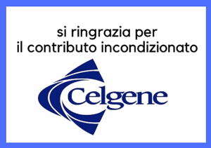 Ringraziamento a Celgene per il contributo incondizionato
