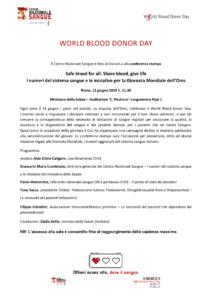 http://www.unitedonlus.org/wp-content/uploads/2019/06/WORLD-BLOOD-DONOR-DAY-Invito-alla-Conferenza-stampa-12-giugno-2019-1.png